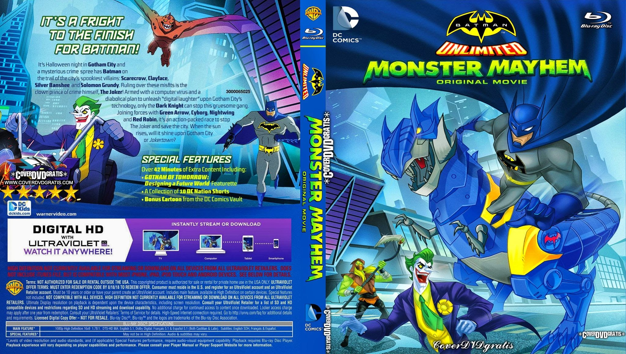HQ Batman Unlimited: Monster Mayhem Wallpapers | File 678.62Kb