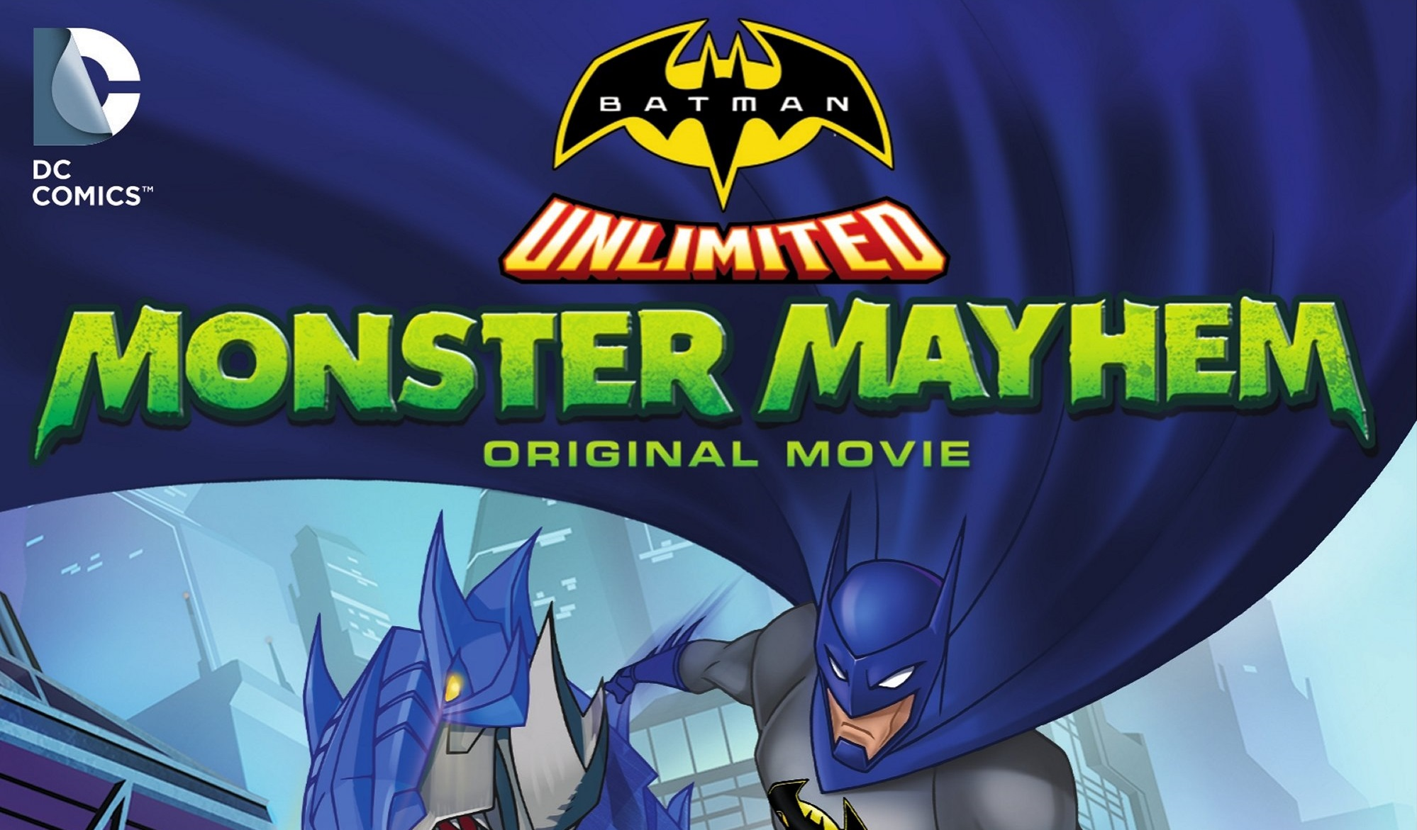Nice Images Collection: Batman Unlimited: Monster Mayhem Desktop Wallpapers