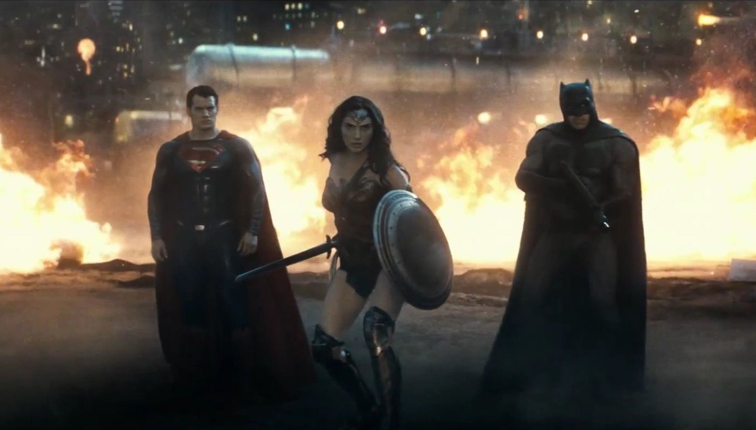 HD Quality Wallpaper | Collection: Movie, 1485x845 Batman V Superman: Dawn Of Justice