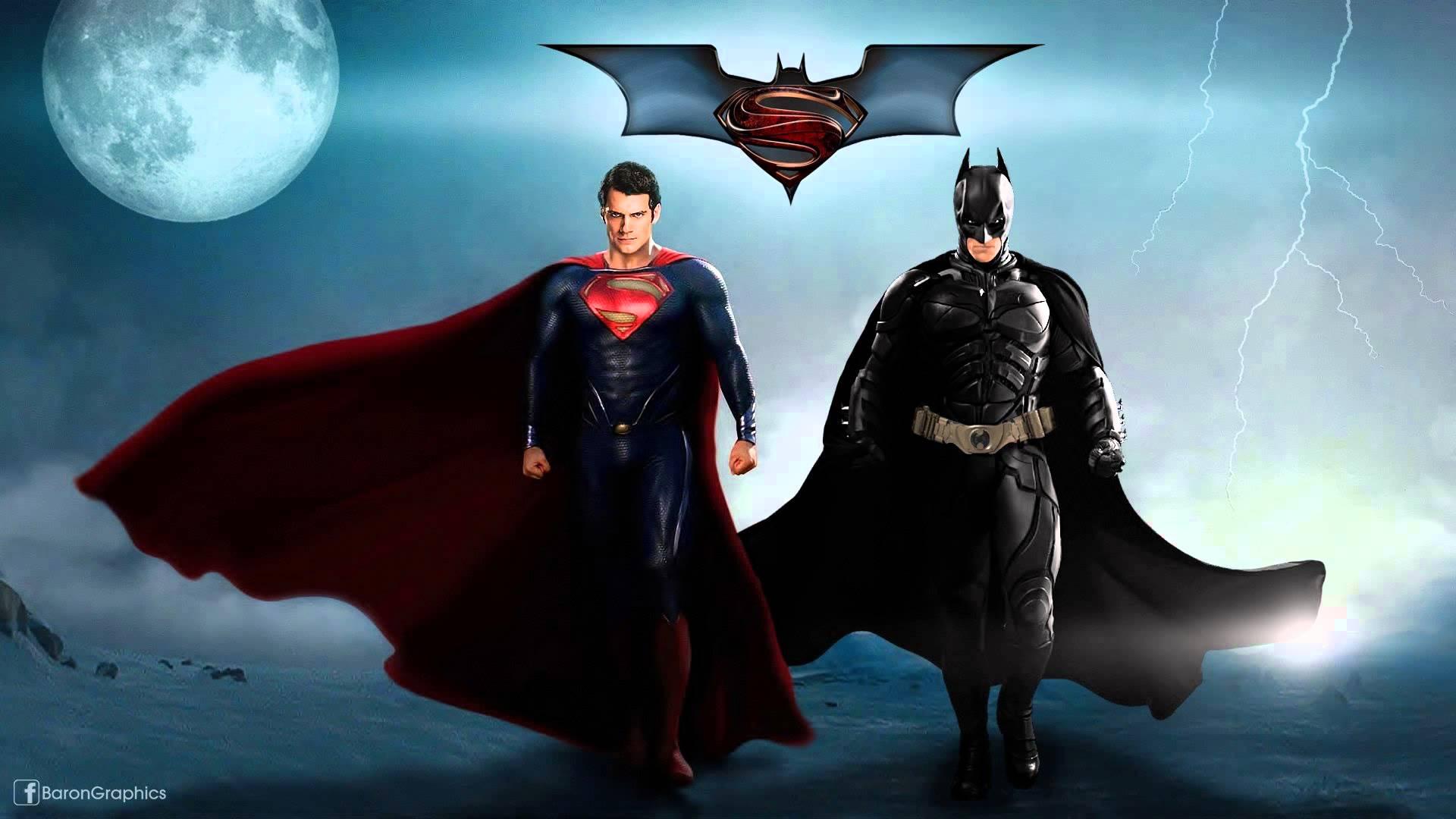 HD Quality Wallpaper | Collection: Cartoon, 1920x1080 Batman Vs Superman