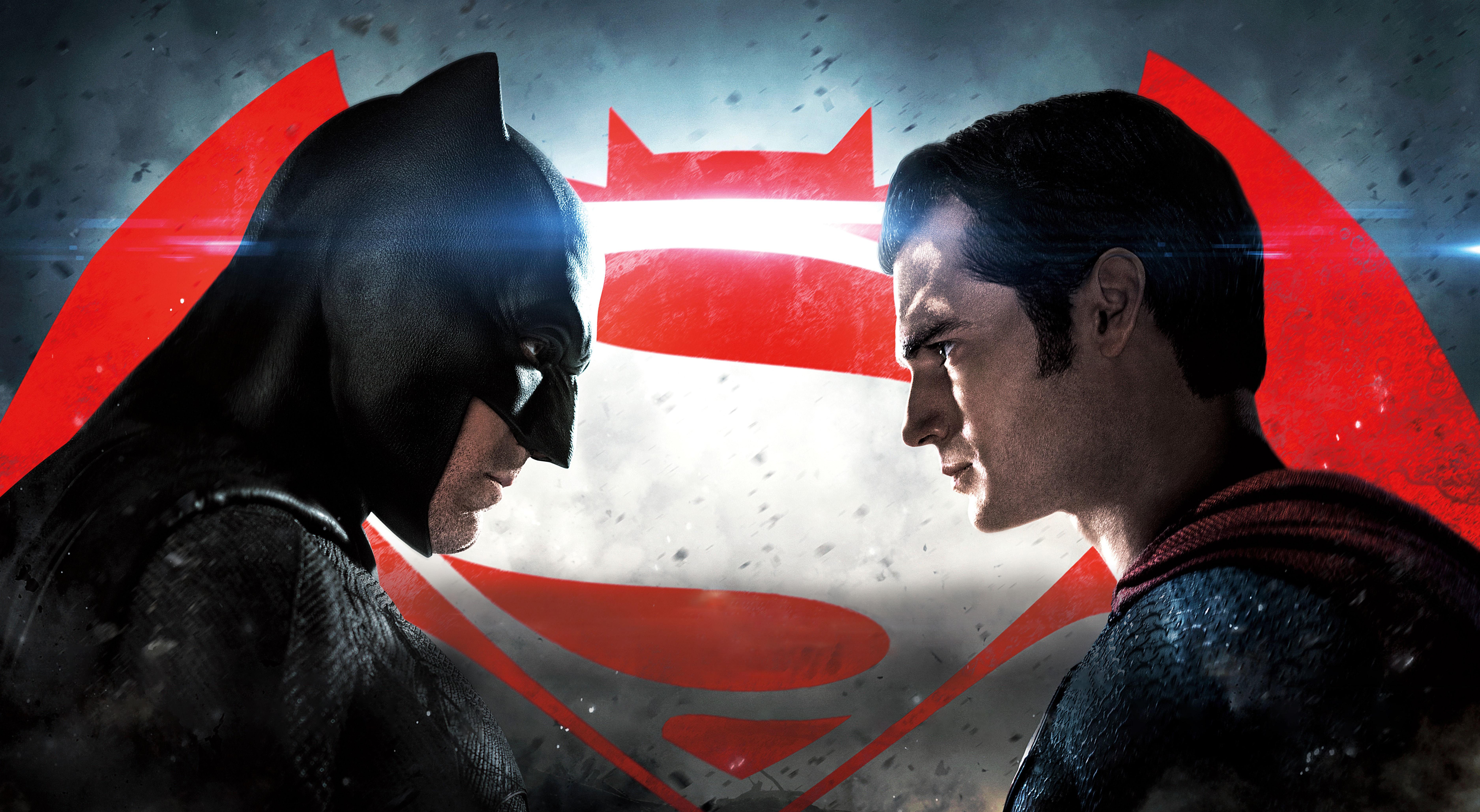 HD Quality Wallpaper | Collection: Cartoon, 7500x4117 Batman Vs Superman
