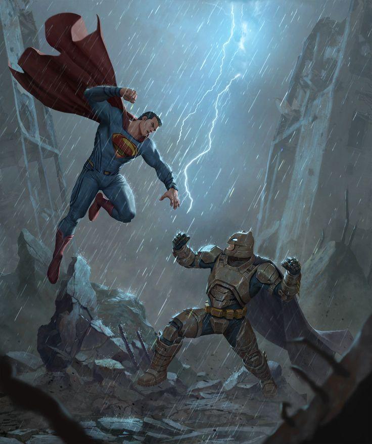 Batman VS. Superman Backgrounds on Wallpapers Vista