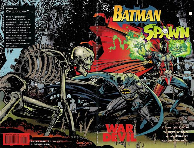Images of Batman-Spawn: War Devil | 640x488
