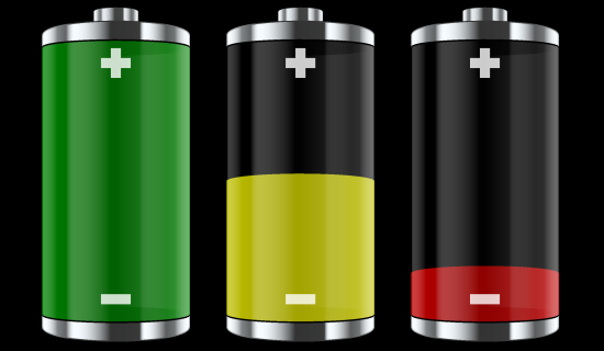 Nice wallpapers Battery 550x320px
