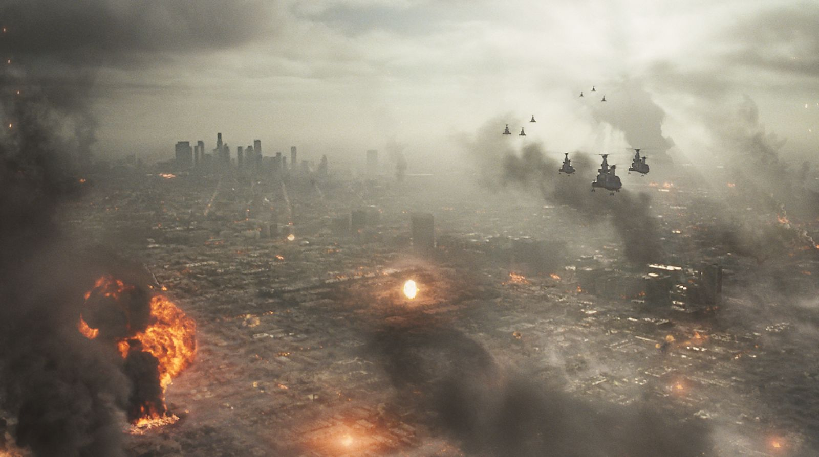 HD Quality Wallpaper | Collection: Movie, 1600x894 Battle: Los Angeles