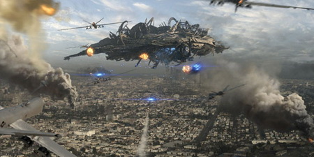 Nice Images Collection: Battle: Los Angeles Desktop Wallpapers