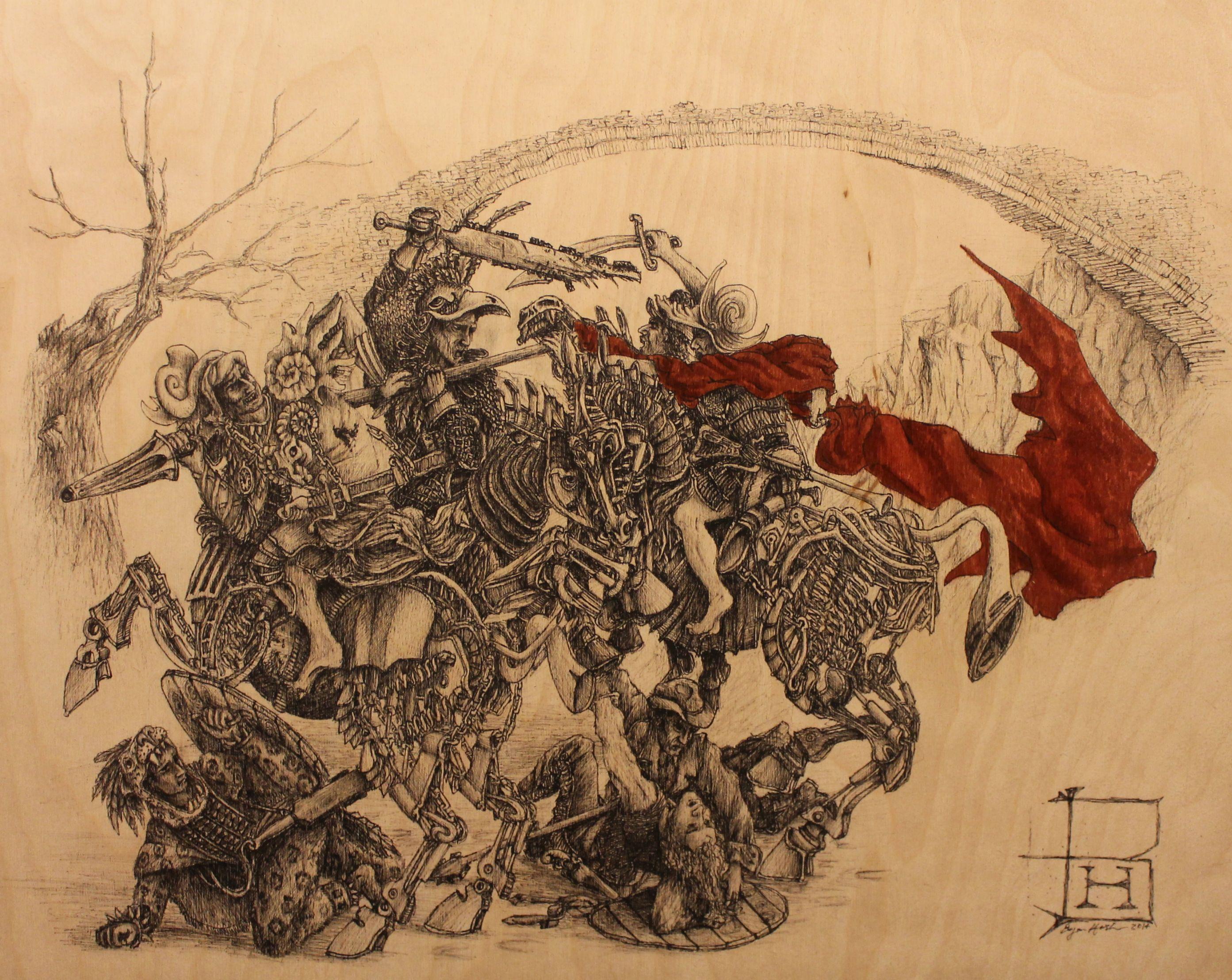 Nice wallpapers Battle Of Anghiari 2786x2216px