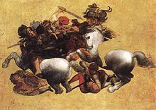 HD Quality Wallpaper | Collection: Artistic, 220x156 Battle Of Anghiari