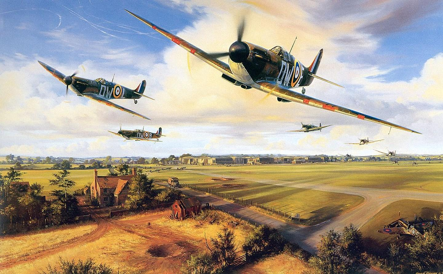 Nice wallpapers Battle Of Britain 1440x890px