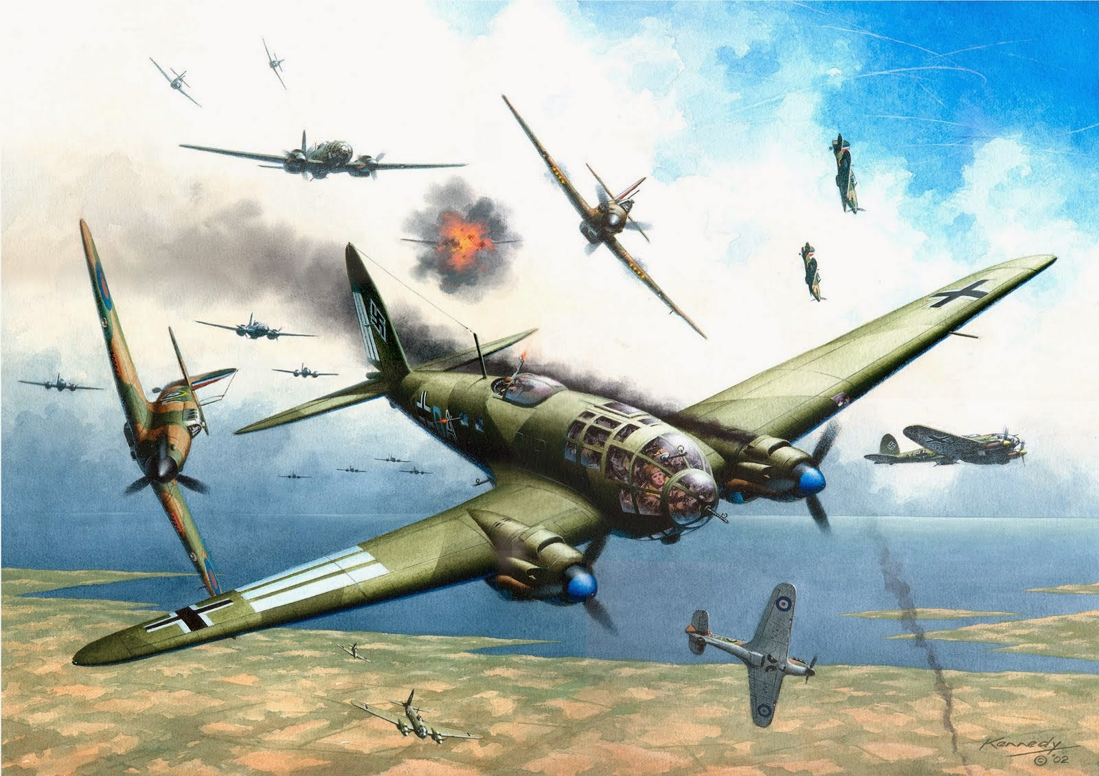 Nice Images Collection: Battle Of Britain Desktop Wallpapers