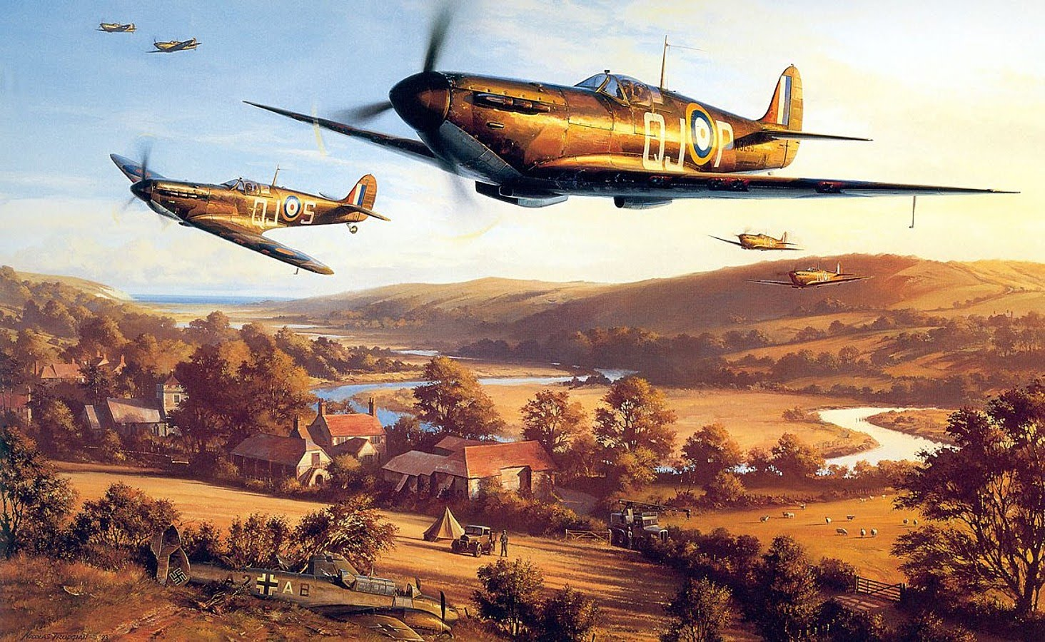 Nice wallpapers Battle Of Britain 1464x900px