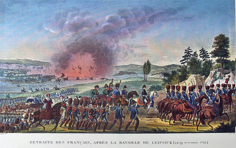 Battle Of Leipzig Pics, Artistic Collection