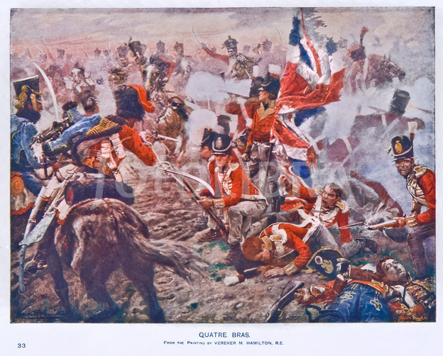 Nice Images Collection: Battle Of Quatre Bras Desktop Wallpapers