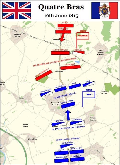 Images of Battle Of Quatre Bras | 500x685