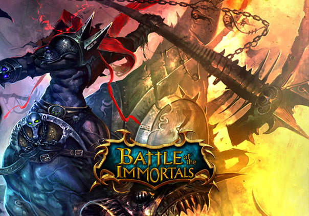 Nice Images Collection: Battle Of The Immortals Desktop Wallpapers