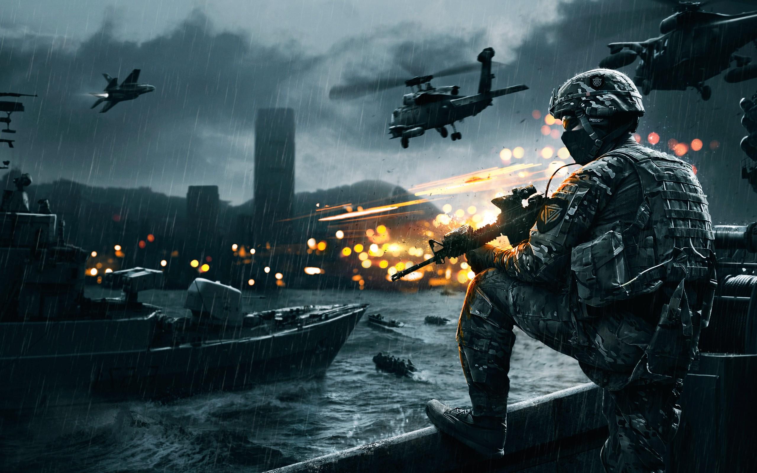 Battlefield 4 Backgrounds, Compatible - PC, Mobile, Gadgets  2560x1600 px