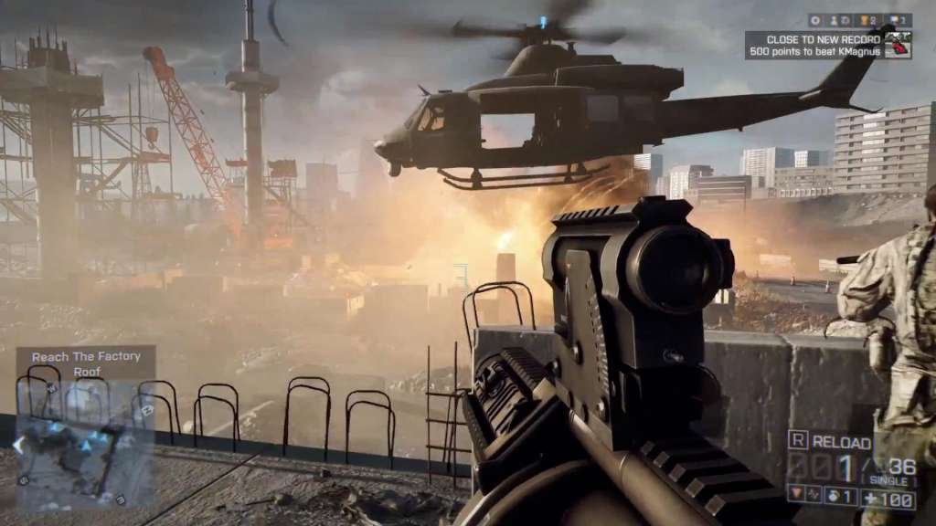 HD Quality Wallpaper   Collection: Video Game, 1024x576 Battlefield 4