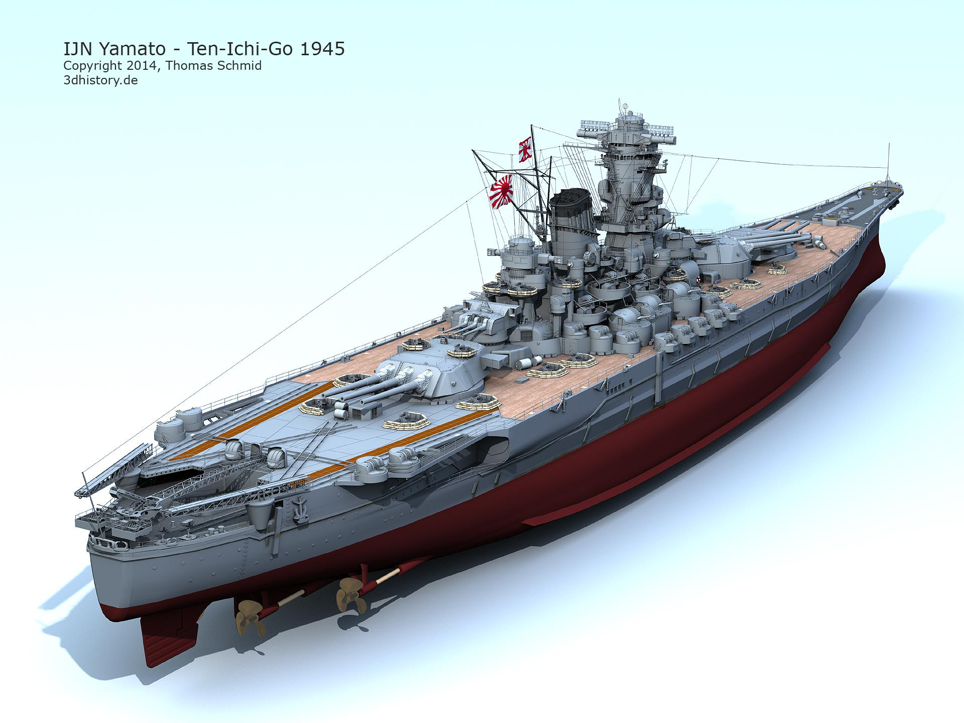 Battleship Yamato Pics, Sci Fi Collection