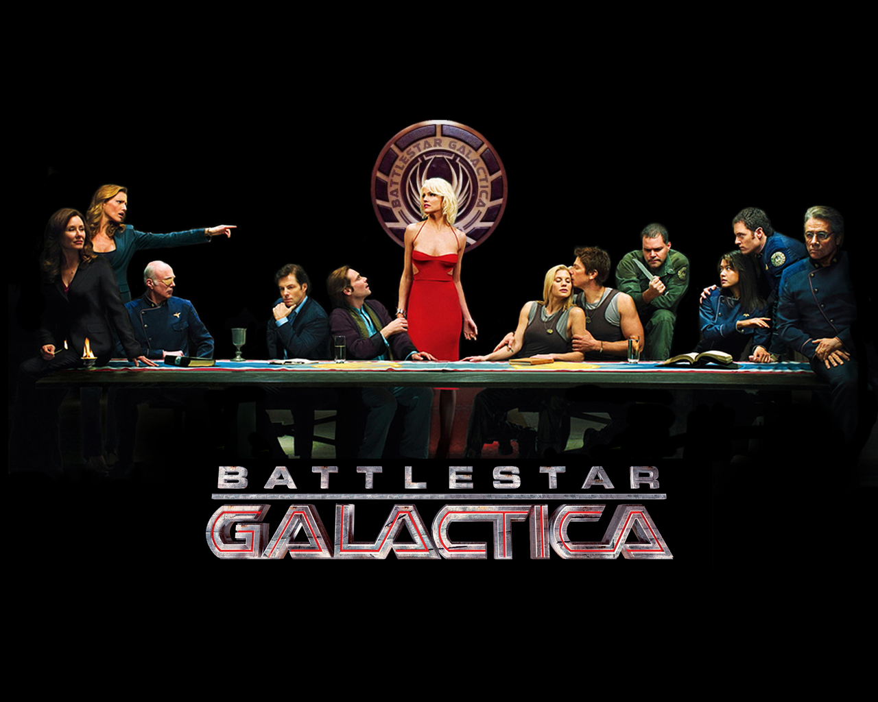 Battlestar Galactica (2003) Backgrounds on Wallpapers Vista