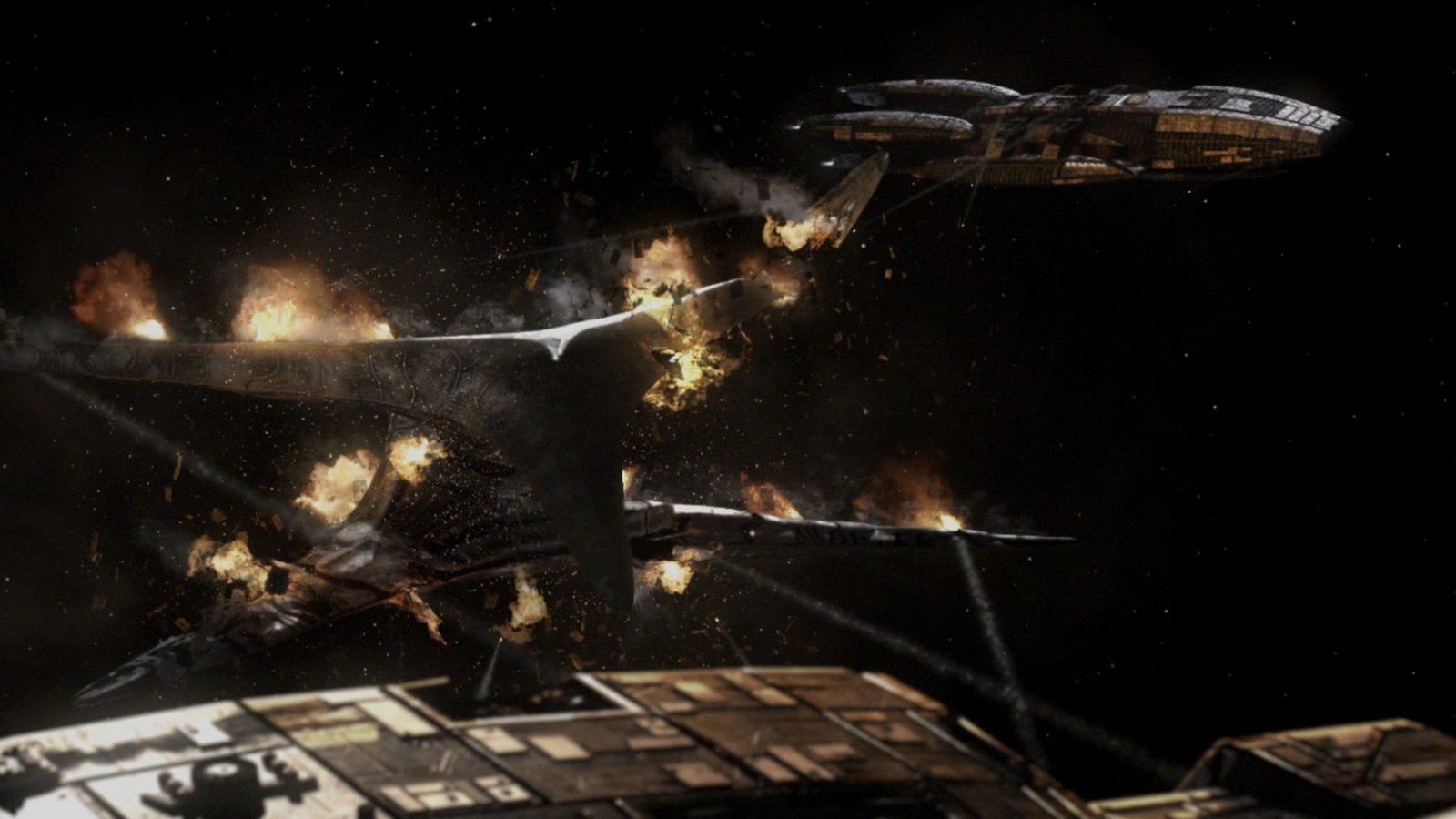 HD Quality Wallpaper | Collection: TV Show, 1600x900 Battlestar Galactica (2003)