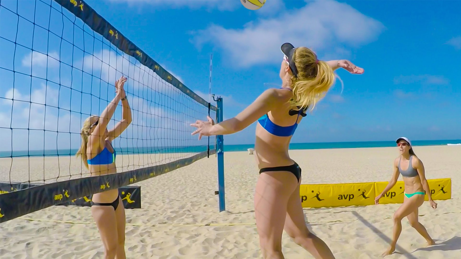 HQ Beach Volleyball Wallpapers | File 202.17Kb