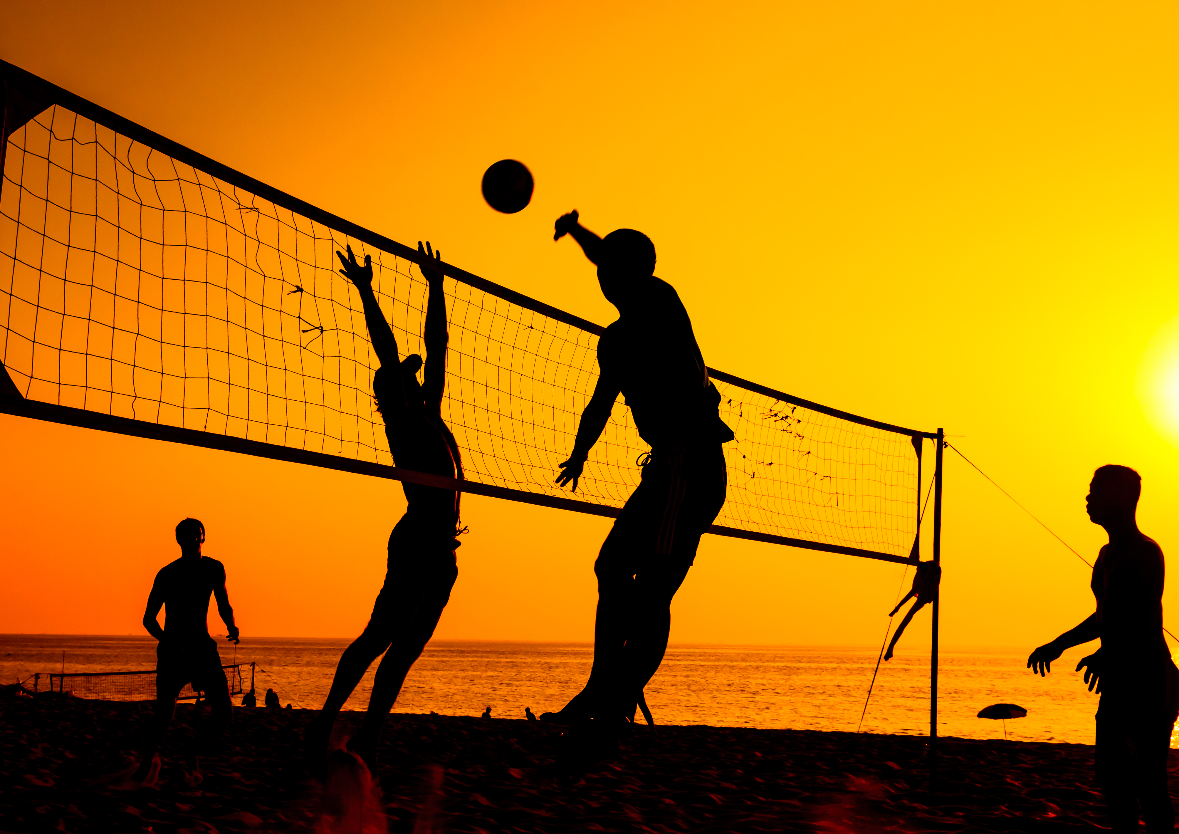 Beach Volleyball Backgrounds, Compatible - PC, Mobile, Gadgets| 4014x2839 px