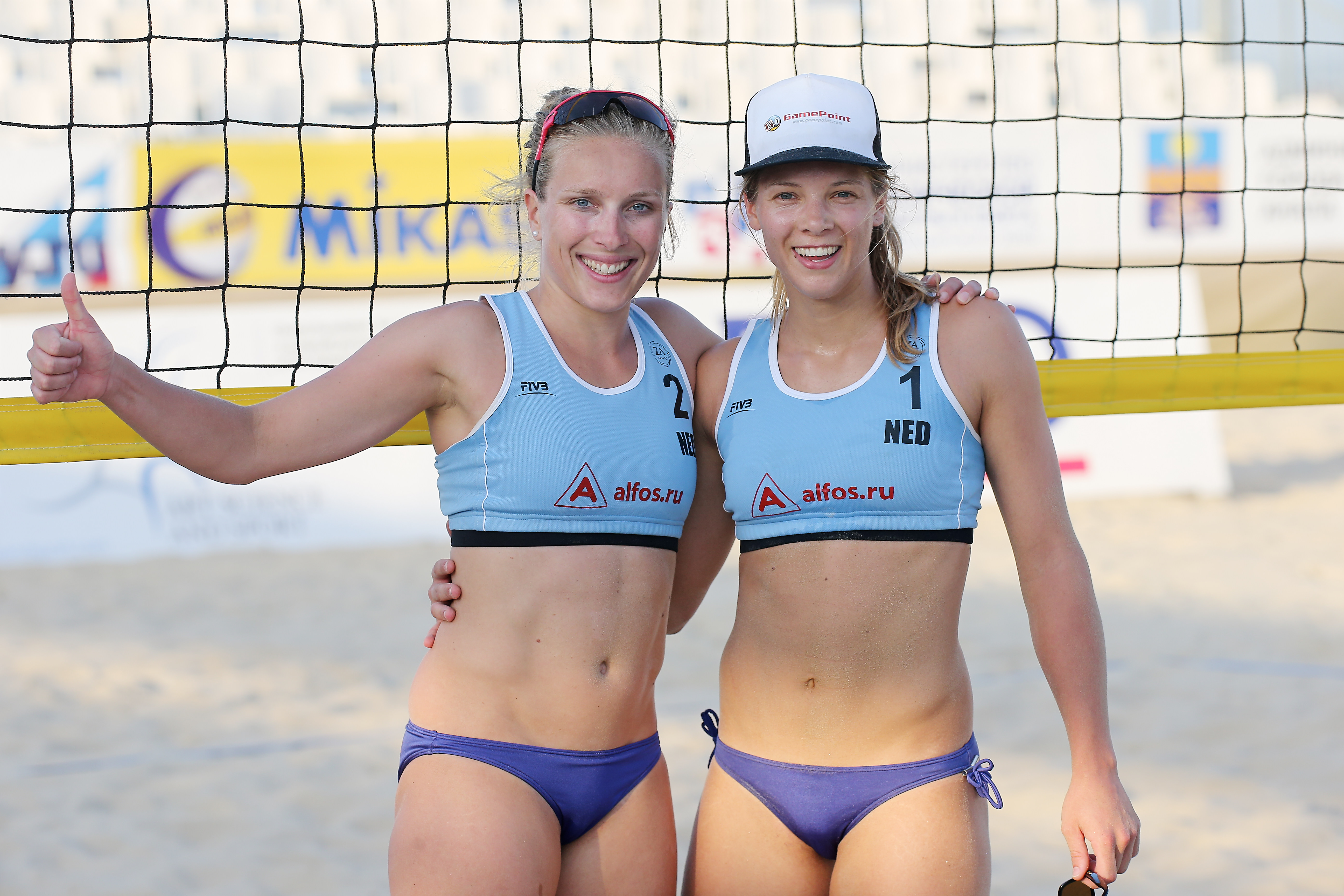 Nice Images Collection: Beach Volleyball Desktop Wallpapers