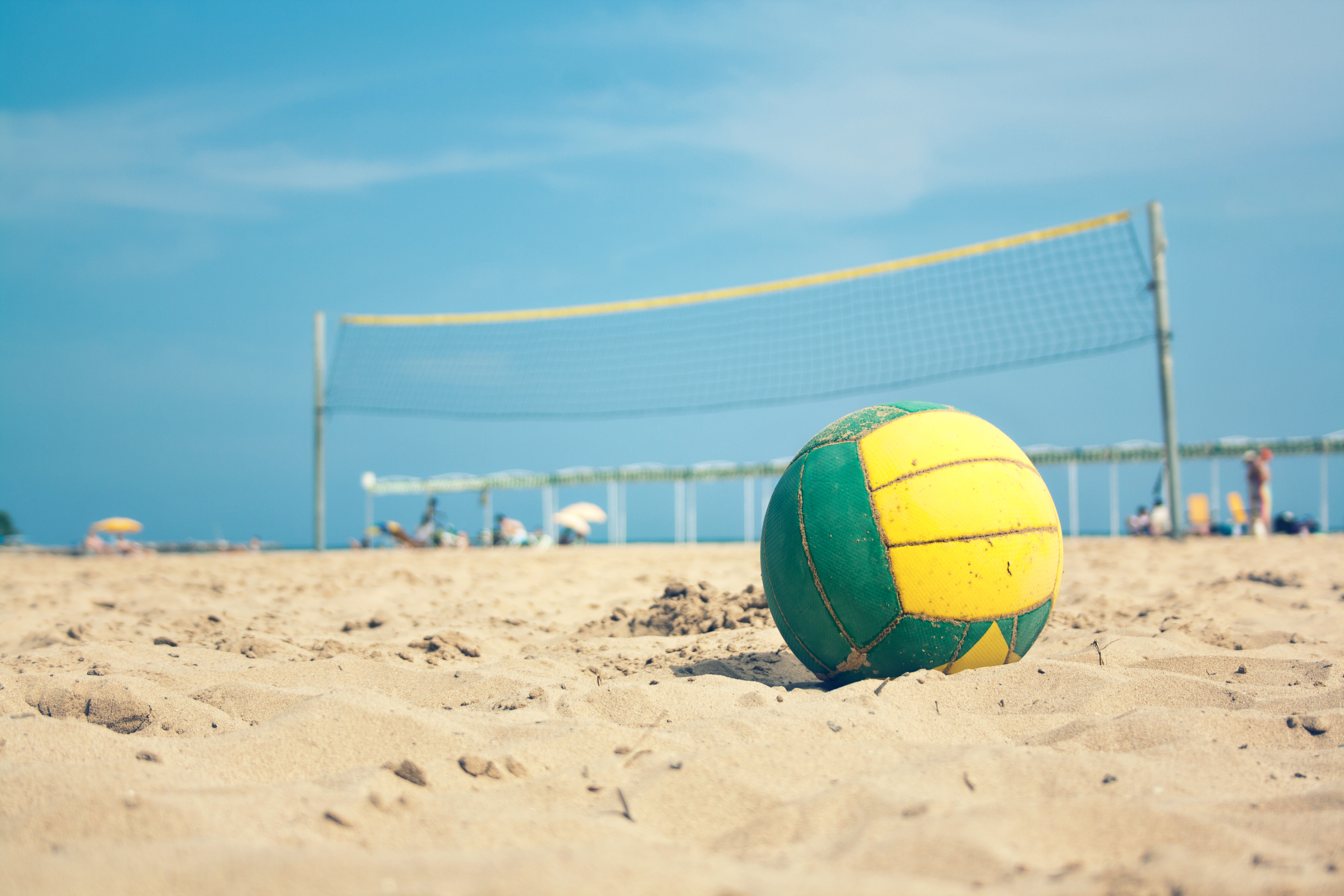 Nice wallpapers Beach Volleyball 3888x2592px