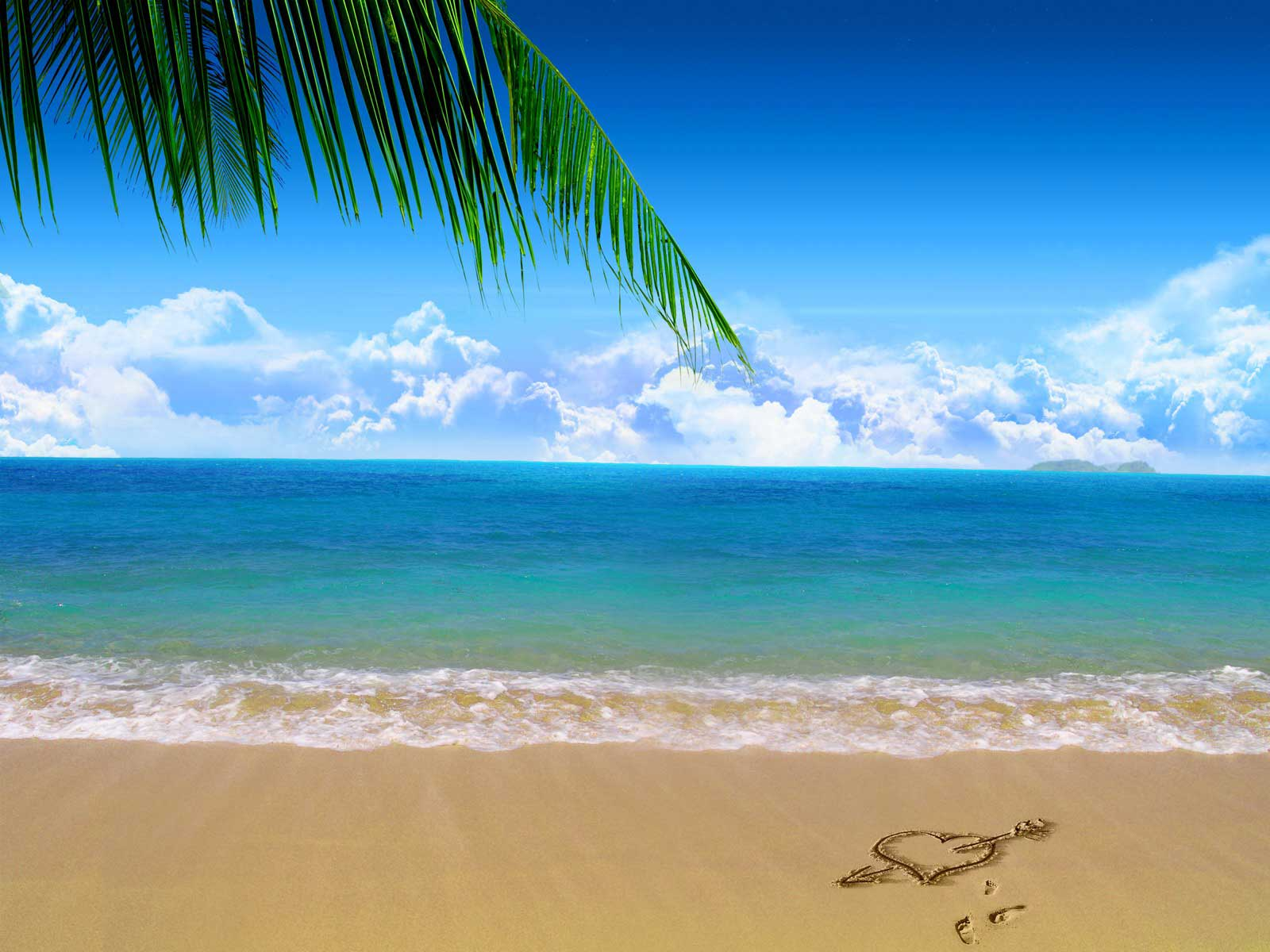 Beach Backgrounds, Compatible - PC, Mobile, Gadgets| 1600x1200 px