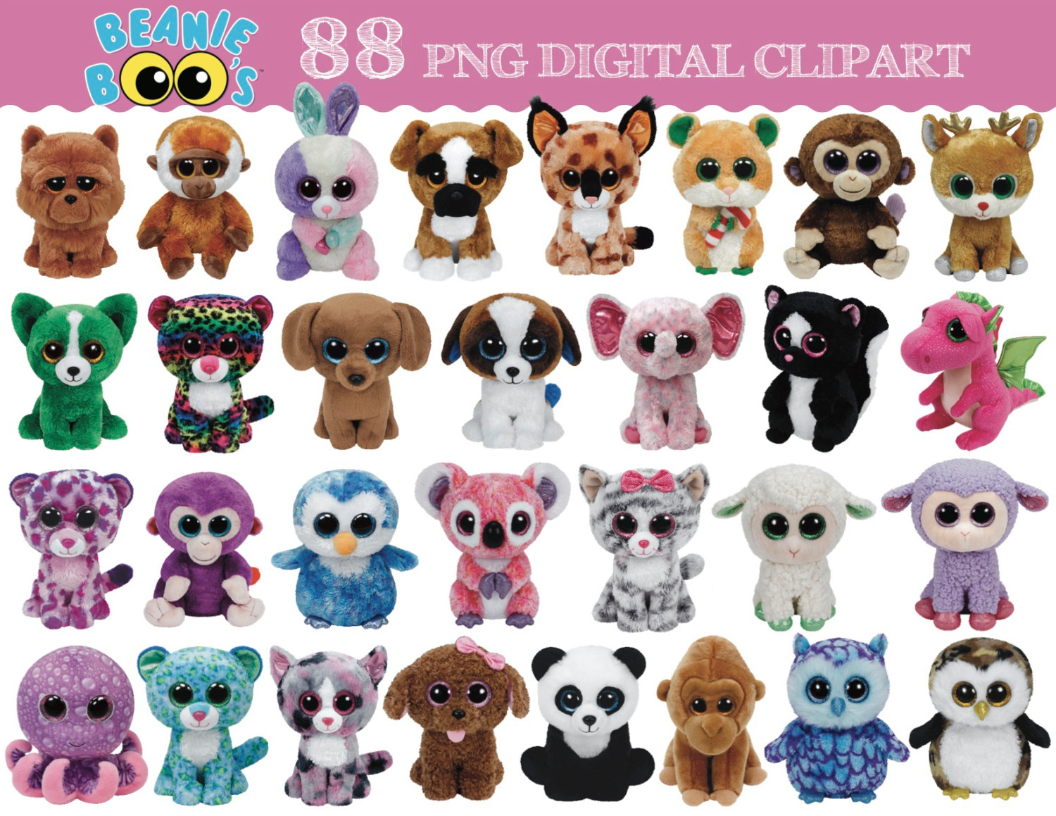 HD Quality Wallpaper | Collection: Products, 1500x1159 Beanie Boos