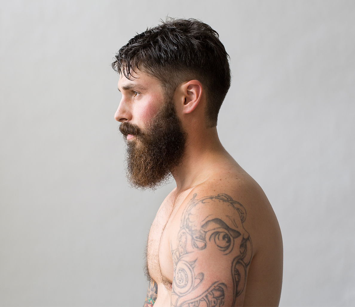 Nice Images Collection: Beard Desktop Wallpapers