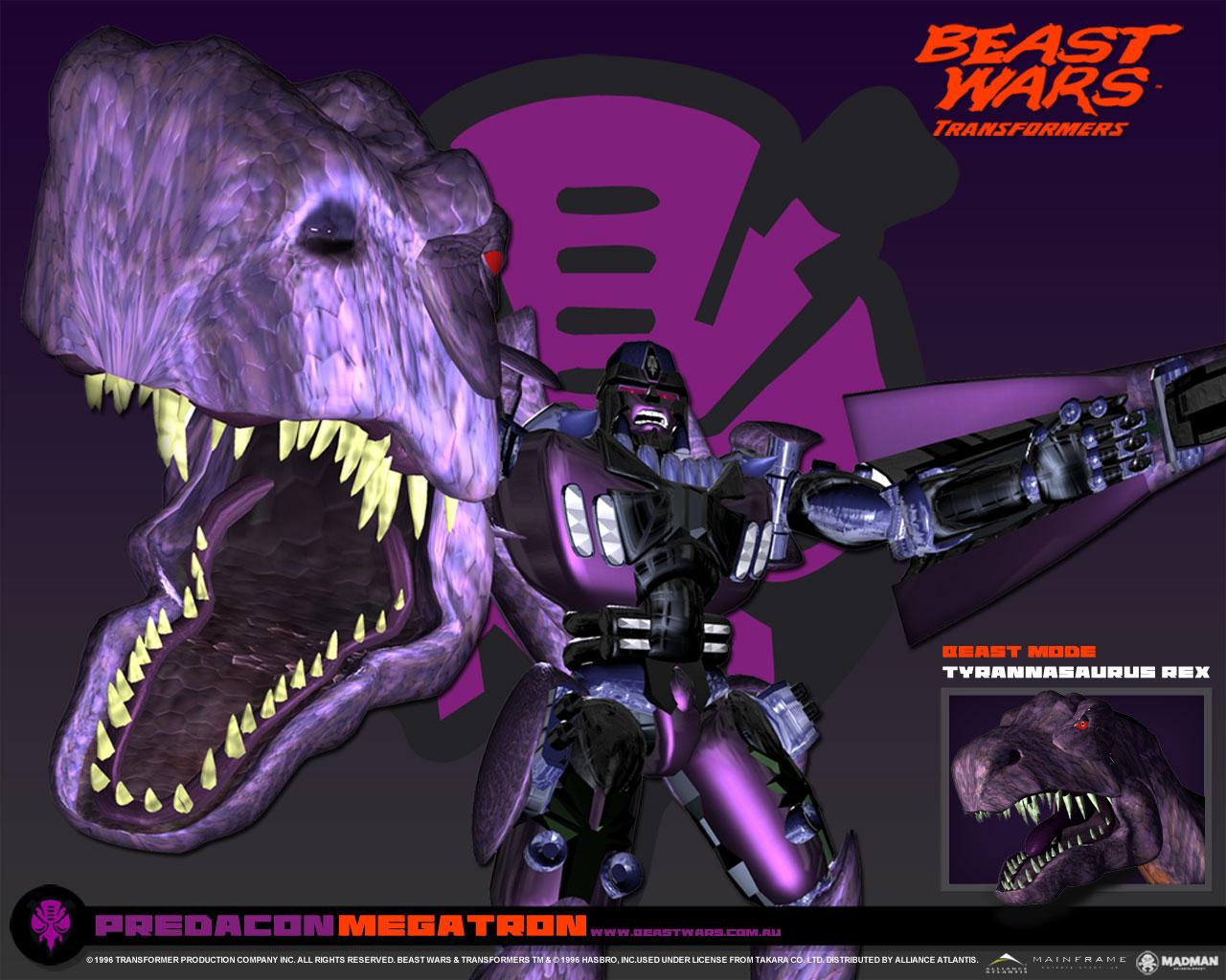 HD Quality Wallpaper | Collection: Cartoon, 1280x1024 Beast Wars: Transformers