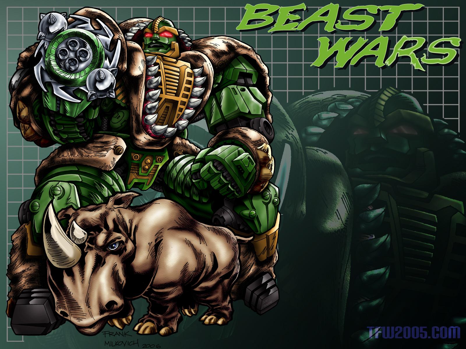 HD Quality Wallpaper | Collection: Cartoon, 1600x1200 Beast Wars: Transformers