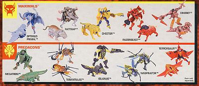Nice Images Collection: Beast Wars: Transformers Desktop Wallpapers