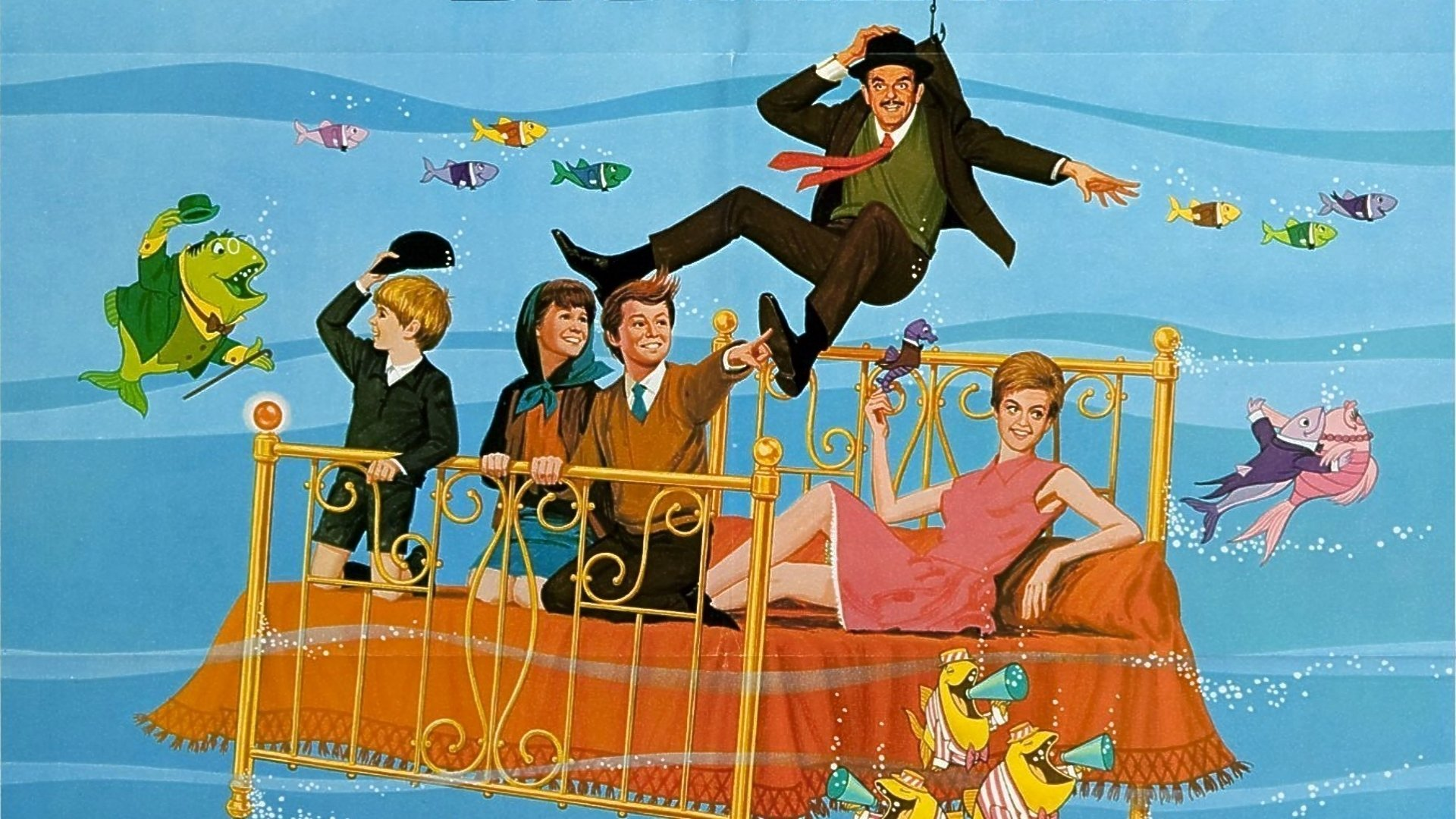 High Resolution Wallpaper | Bedknobs And Broomsticks 1920x1080 px
