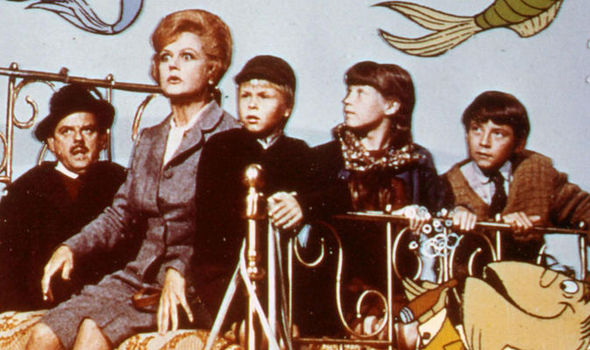 Nice Images Collection: Bedknobs And Broomsticks Desktop Wallpapers