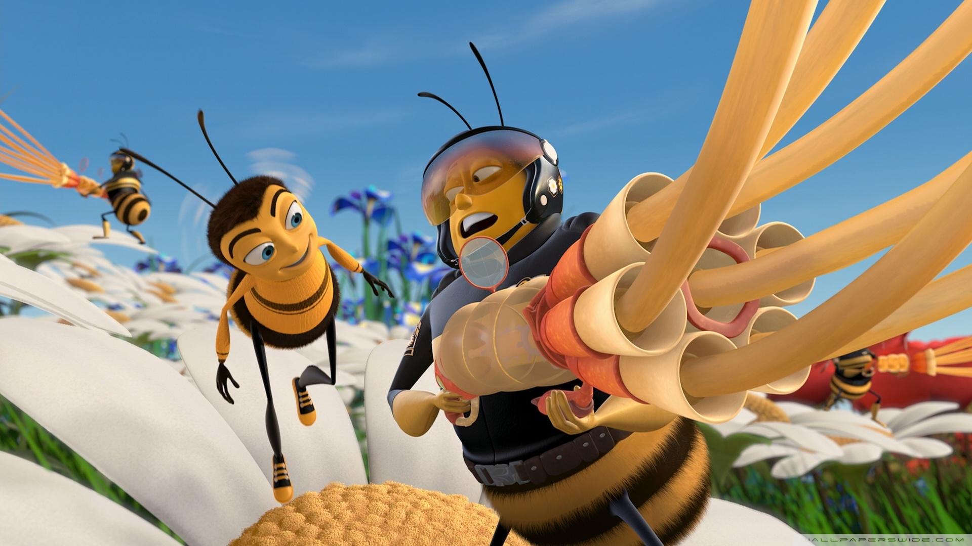 Nice Images Collection: Bee Movie Desktop Wallpapers