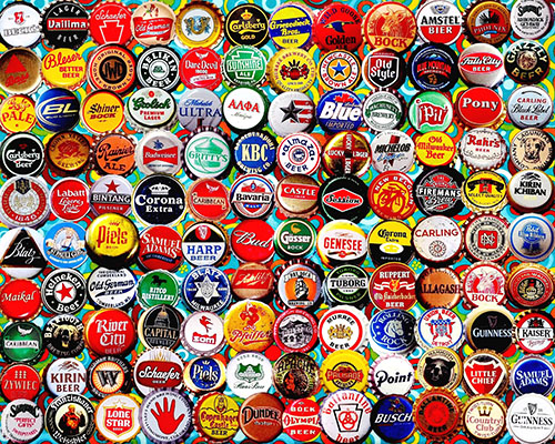 Images of Beer Bottle Caps | 500x400