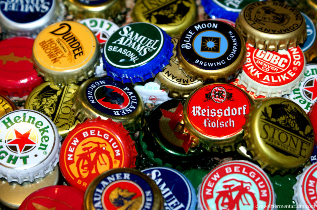 Nice wallpapers Beer Bottle Caps 630x419px