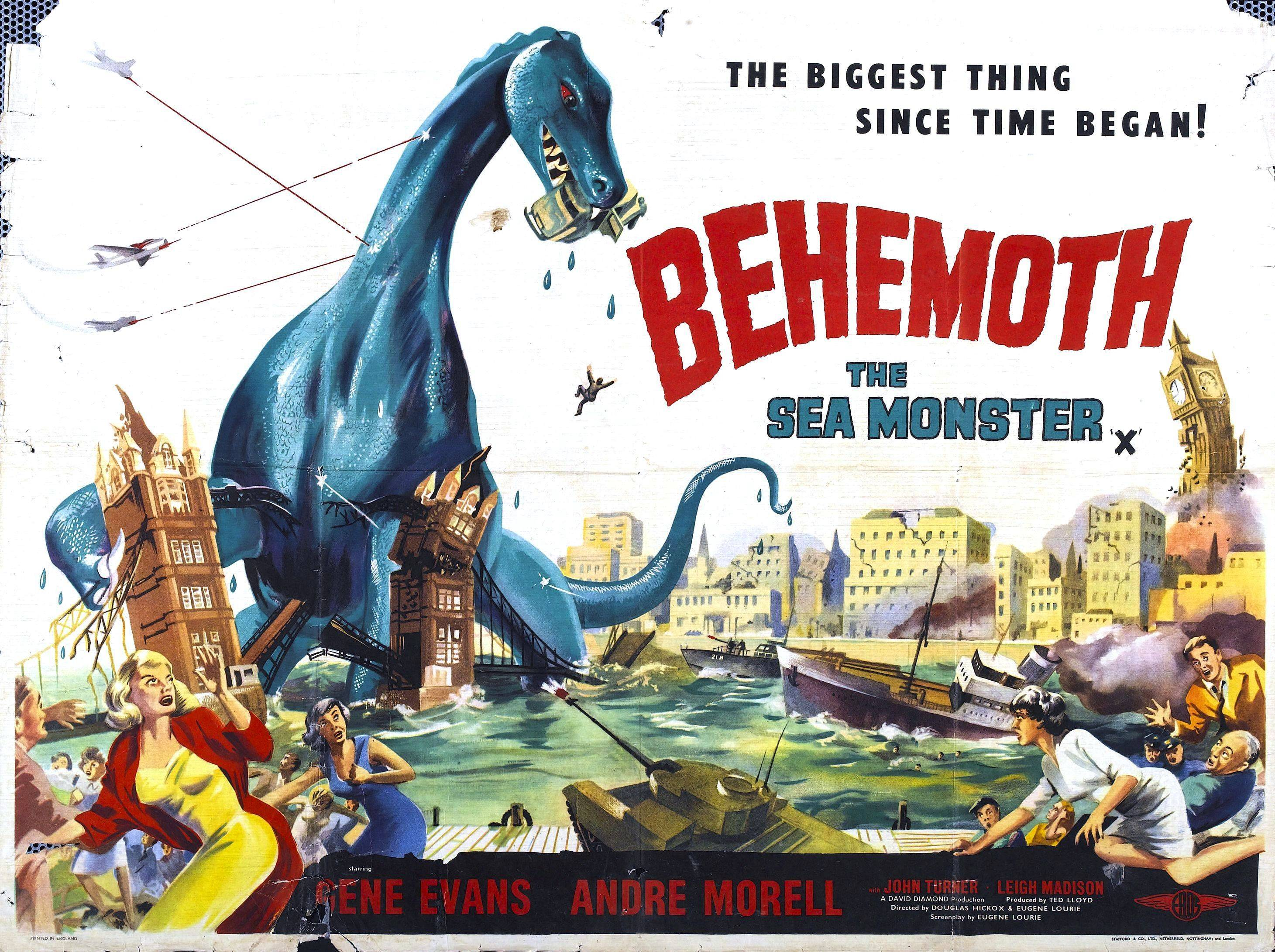 Behemoth, The Sea Monster High Quality Background on Wallpapers Vista