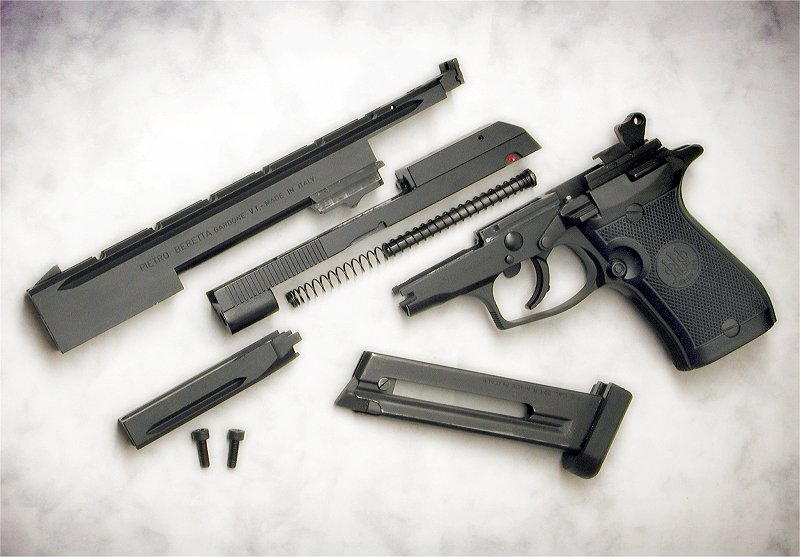 Nice Images Collection: Beretta 87 Target Desktop Wallpapers