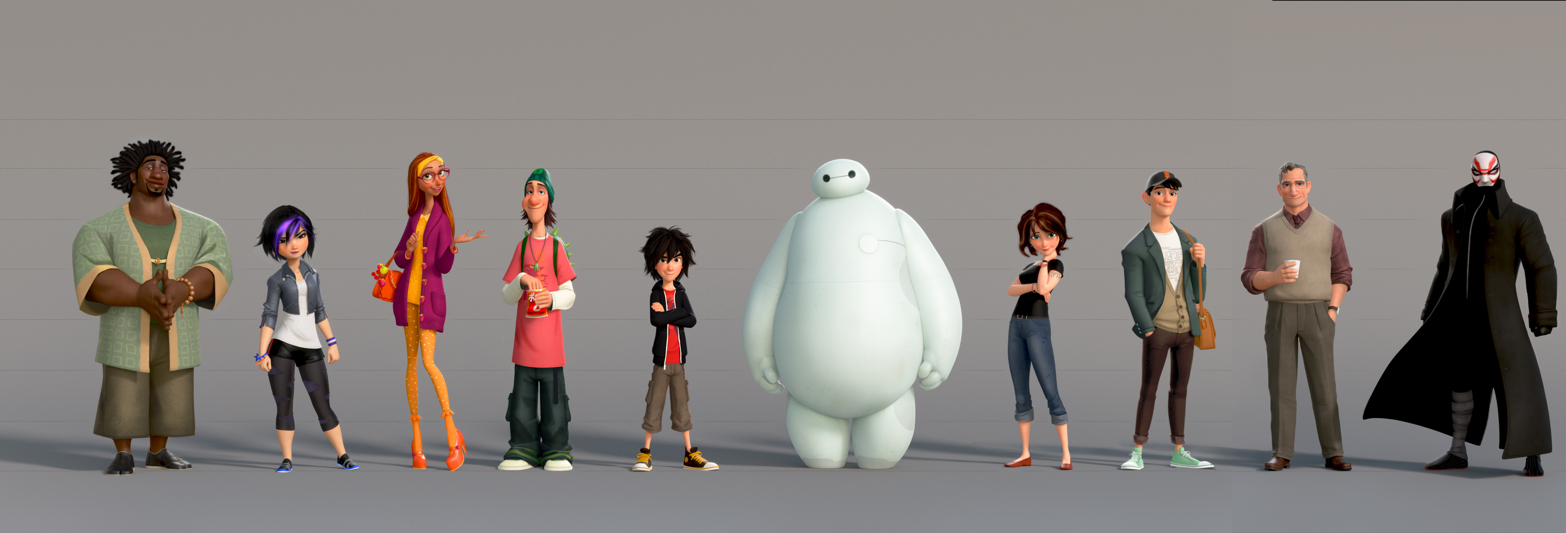 High Resolution Wallpaper | Big Hero 6 3172x1080 px