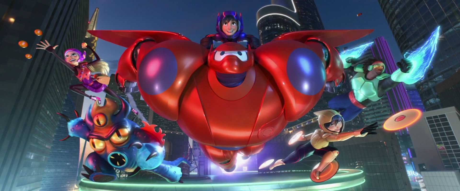 Nice Images Collection: Big Hero 6 Desktop Wallpapers