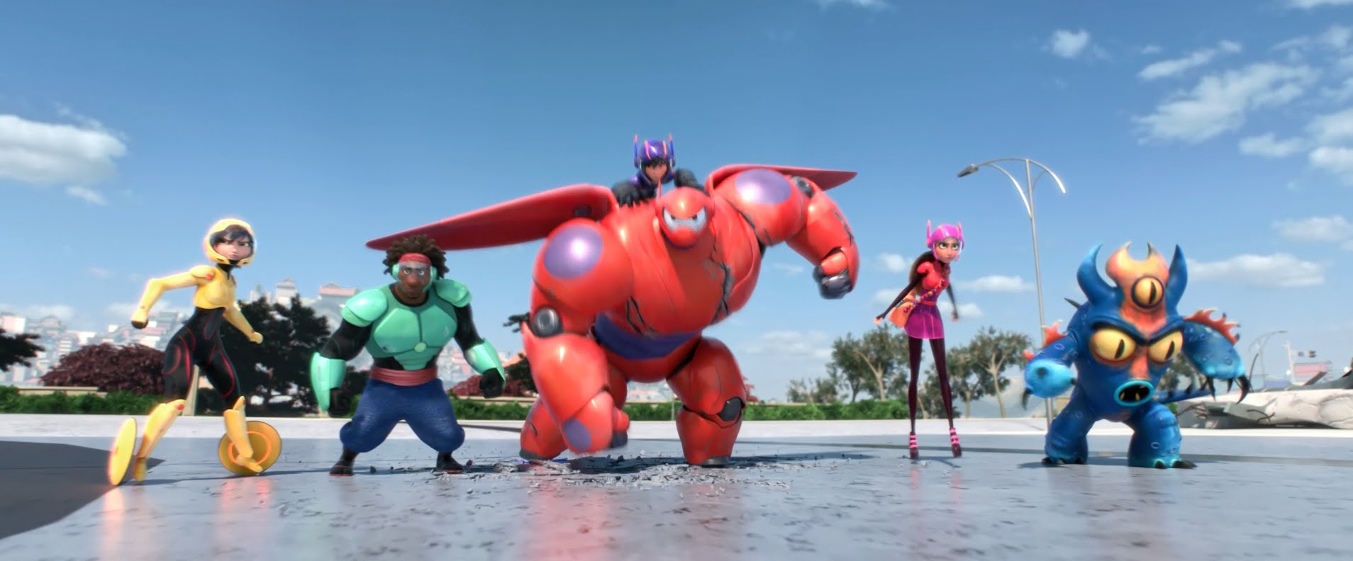 Big Hero 6 Backgrounds, Compatible - PC, Mobile, Gadgets| 1908x792 px