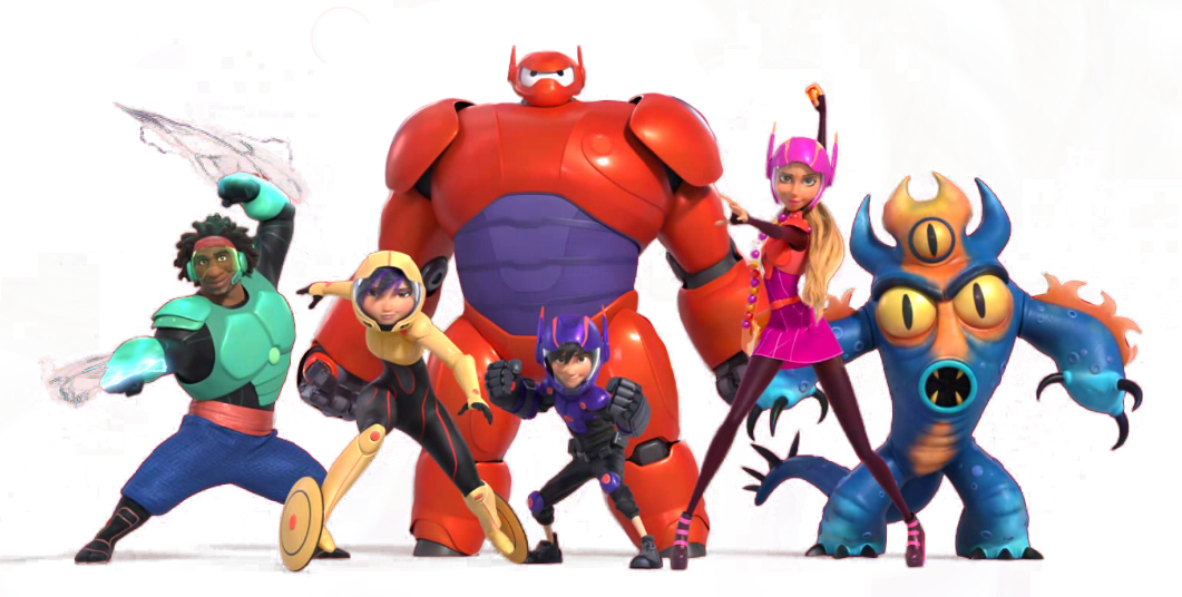 Nice wallpapers Big Hero 6 1061x536px