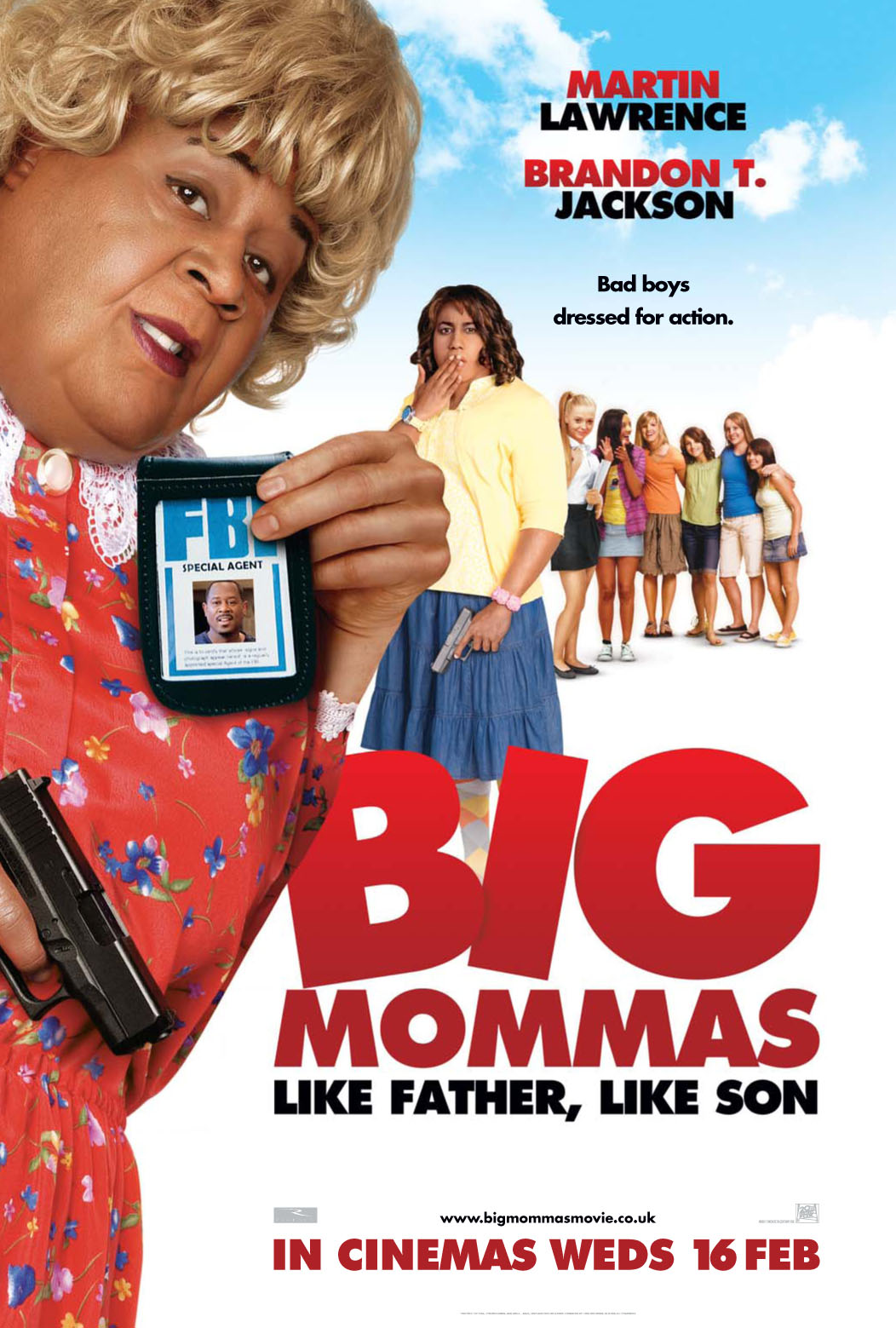 1052x1559 > Big Mommas: Like Father, Like Son Wallpapers