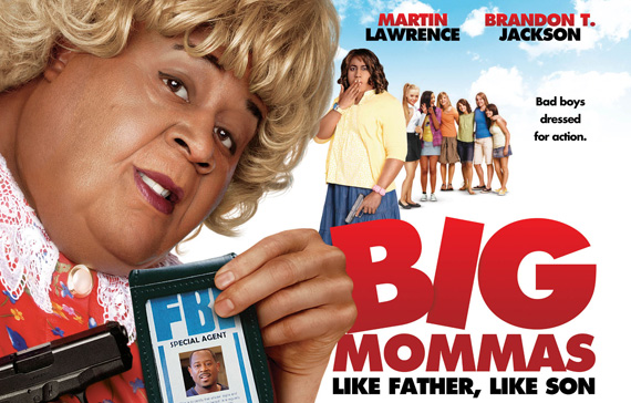 HD Quality Wallpaper | Collection: Movie, 570x364 Big Mommas: Like Father, Like Son