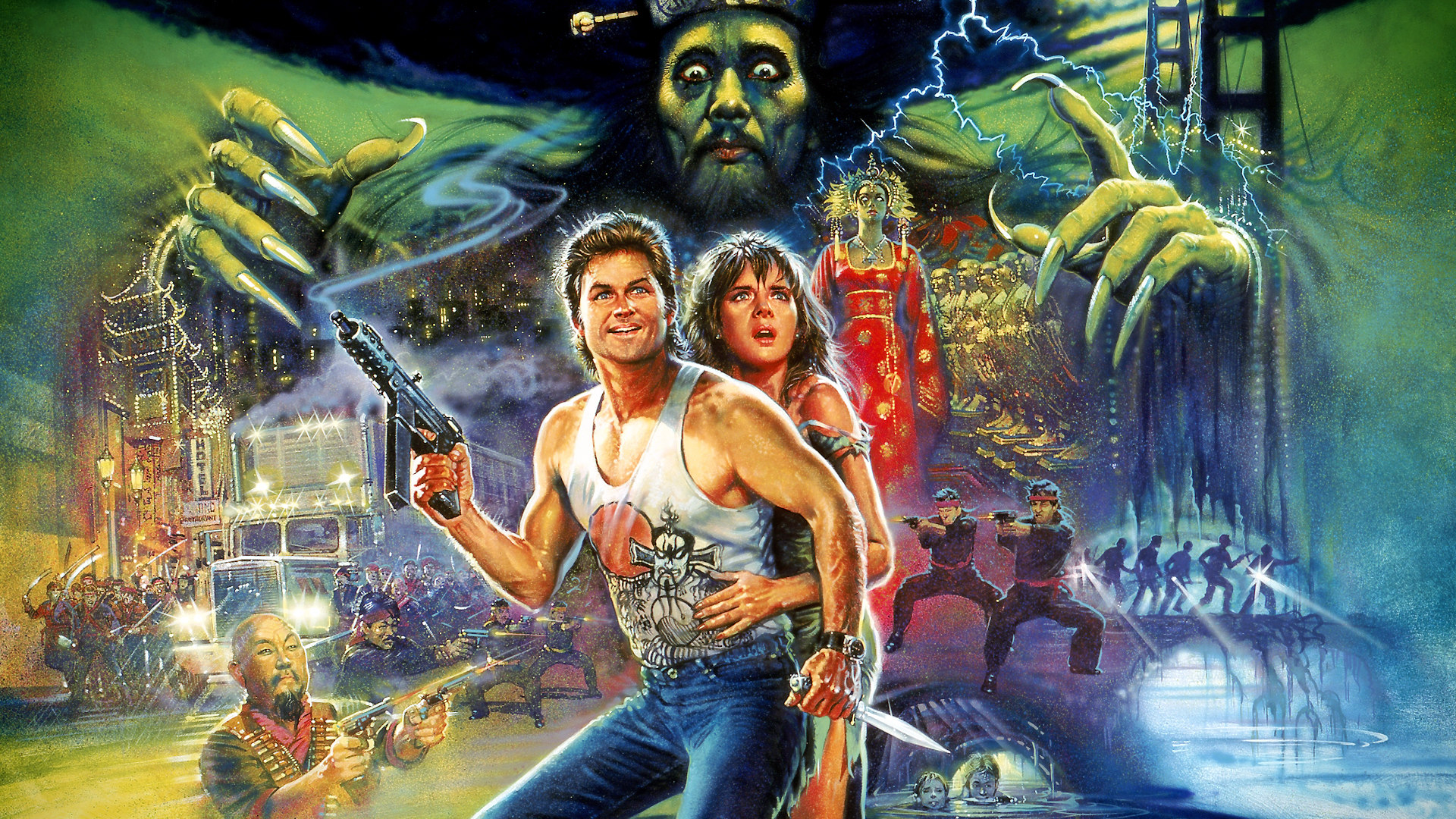 Big Trouble In Little China Pics, Movie Collection