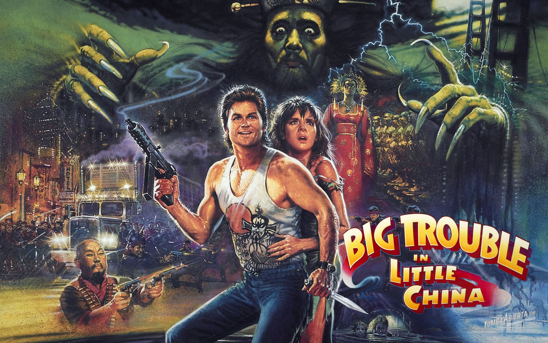 HQ Big Trouble In Little China Wallpapers | File 641.75Kb