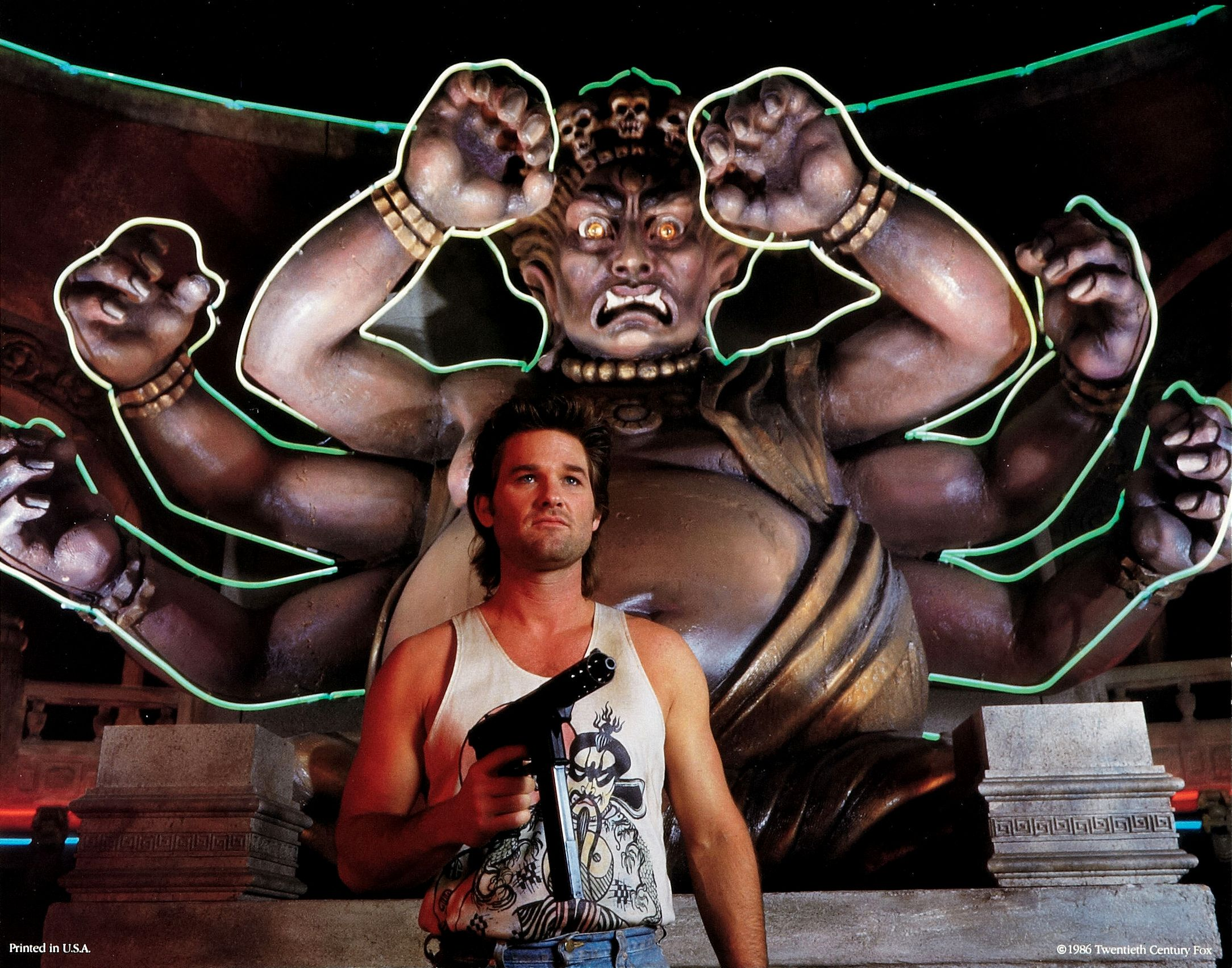 Nice Images Collection: Big Trouble In Little China Desktop Wallpapers